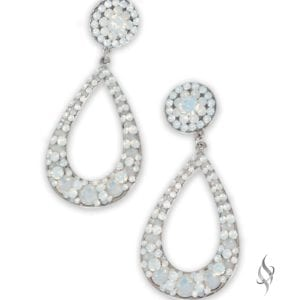 ARTESIA Opal Hoop Earrings from Stefanie Somers