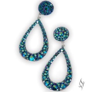 ARTESIA Scarab Hoop Earrings from Stefanie Somers