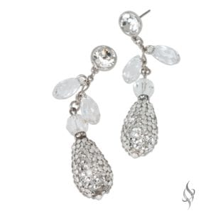 DARIEN Crystal Drop Earrings from Stefanie Somers