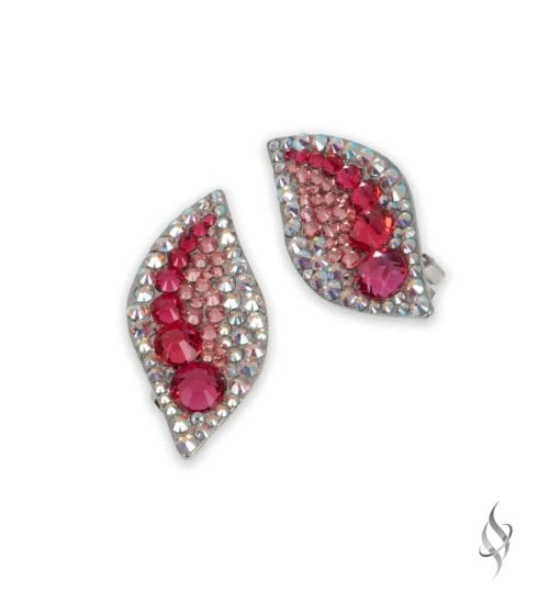 HALLE Marakesh Crystal Clip Earrings from Stefanie Somers