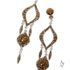 BASTION Dorado Crystal Chandelier Drop Earrings from Stefanie Somers®