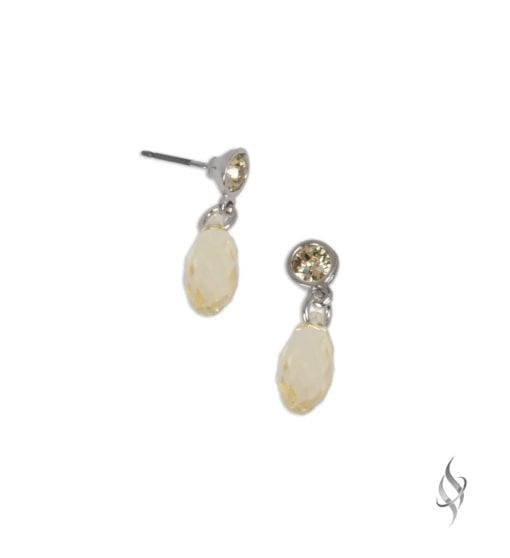 BRIO Jonquil Crystal Mini Drop Earrings from Stefanie Somers®