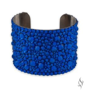 "GABRIELLE 2"" Crystal Cuff Bracelet in Majestic from Stefanie Somers"